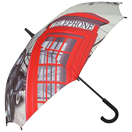 Pierre Cardin Compact Long Handled Umbrella (London...