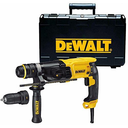 DEWALT D25134K Rotomartillo SDS Plus 1' con mandril de 1/2' 800W 3 Modos
