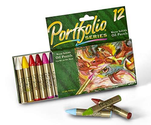 CRAYOLA Portefeuille Pastels à l'huile 12 CT série
