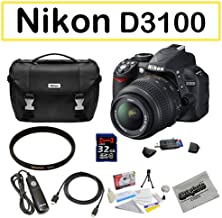 Shooter Package Featuring the Nikon D3100 Digital Camera, Opteka Shutter Release Remote, Sigma UV Filter and More