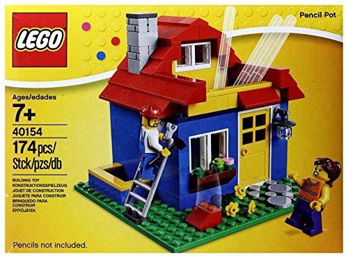 LEGO 40154 Pencil Pot ハウス型ペン立て