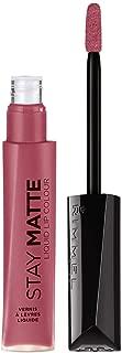 Rimmel Stay Matte Lip Liquid, Rose & Shine, 0.21 Fl Oz (Pack of 1)