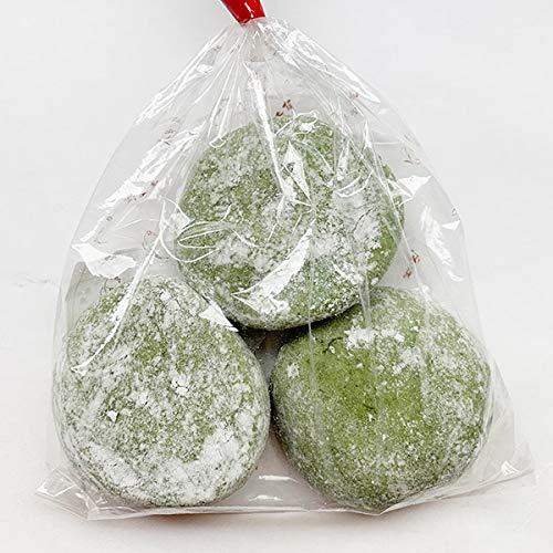 よもぎ餅 草餅 あんこ餅 3個入 防腐剤不使用 手作り あん餅雑煮 福岡県産 冷凍便