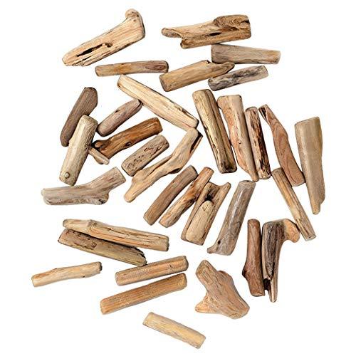 *50er pack Treibholz Dekoholz Deko Holz Schwemmhölzer für Modellbau, Kinderhandwerk*