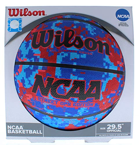 Best Review Of Wilson All Surface Cover NCAA Street OPS Edition Basketball Official Size 29.5