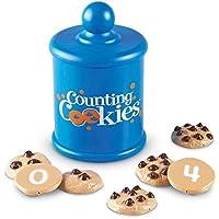 Learning Resources- Galletas para Contar Counting Cookies de Smart Snacks, Color (LER7348)