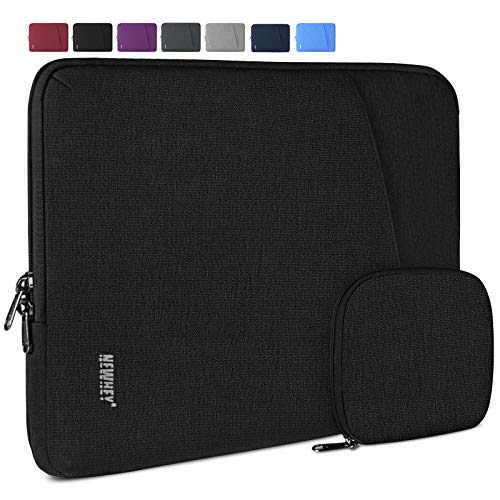 Laptop Sleeve Case 14 Inch Water-Resistant Business Computer Case Compatible with 13 Inch MacBook Air/Pro Notebook Protective Tablet Laptop Sleeve Bag for Men Women