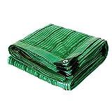 BU ZWJ-Sonnensegel 95prozent Grün Sonnenschutzmittel Schattenstoff Verschleißfest Anti-Aging Geeignet for Balkon Dach Carport (Color : Green, Size : 3x1m)