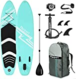 Premium Inflatable Stand Up Paddle Board (6 inches Thick) with Durable SUP...