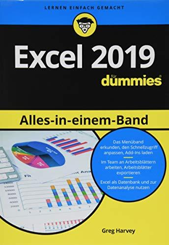 Excel 2019 Alles in einem Band für Dummies