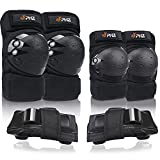 PHZ. Knee Pads Kids Adults Elbow Pads Wrist Guard Protection Gear Set 3 in 1 for Skating Cycling Bike Rollerblading Scooter Skateboard Inline Roller Riding BMX Bicycle
