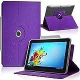 Seluxion-Funda universal para tablet, color morado Edison 3 BQ mini 8