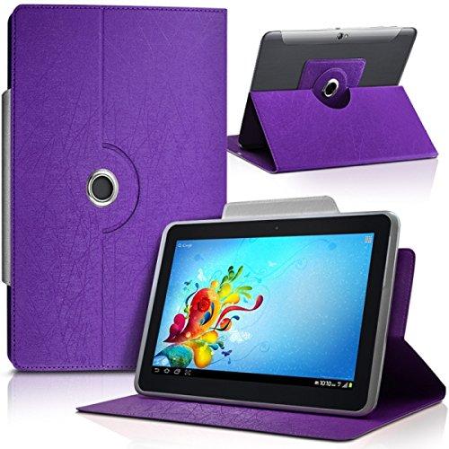 Seluxion-Funda universal para tablet, color morado BQ Curie 2 8