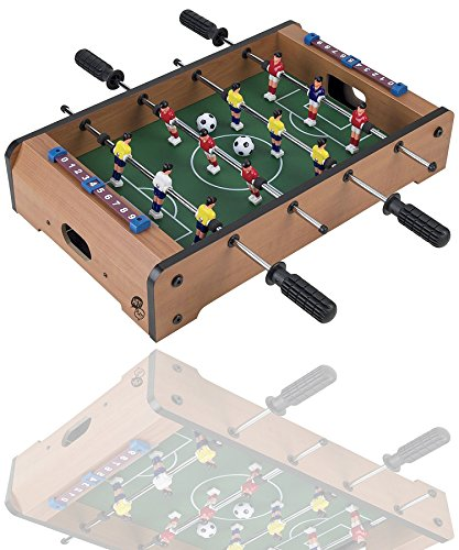 Magicwand® Medium Size Portable Foosball Soccer Game Table Set for Kids