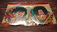 ONE PIECE ワンピース スーパー歌舞伎Ⅱ 缶バッジ ルフィエースセット