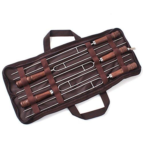 Pogah Campfire Roasting/BBQ/Barbecue Sticks Set