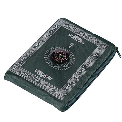 Smileyshy Gebetsdecke Eid Al-Fitr tragbare muslimische Gebetsteppich-islamische Gebetsdecke mit Kompass