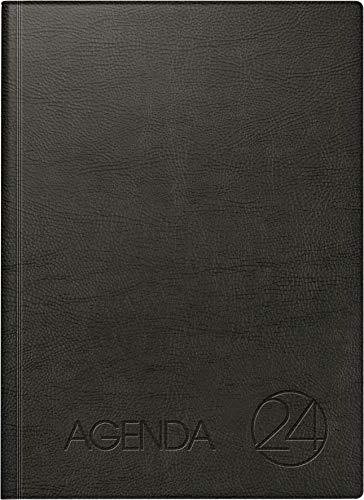 BRUNNEN 1078811 Dienstleistungskalender Agenda 24 (1 Seite = 1 Tag, 21,0 x 29,0 cm, Schaumfolien-Einband, Kalendarium immerwährend)