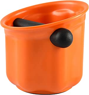 Baoblaze Boîte à café expresso absorbant les chocs Durable baril à frapper expresso poubelle anti-dérapante outils à café ...
