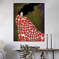 キルトに包まれた北欧のポスターキャンバス絵画リビングルーム家の装飾現代の壁アート油絵ポスター写真30x45cmフレームレス