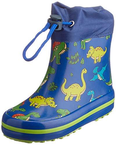 Beck Mini Dino Gummistiefel, blau, 23 EU