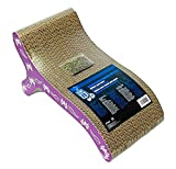 Catit Style Scratcher with Catnip, Butterfly Chaise
