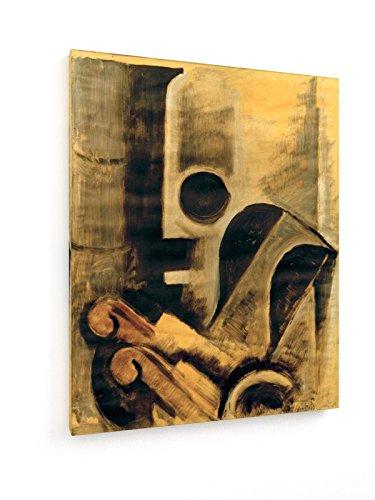 weewado Oskar Schlemmer - Horno y sillón III - 60x75 cm - Impresión en Lienzo Textil - Muro de Arte - Old Masters/Museum