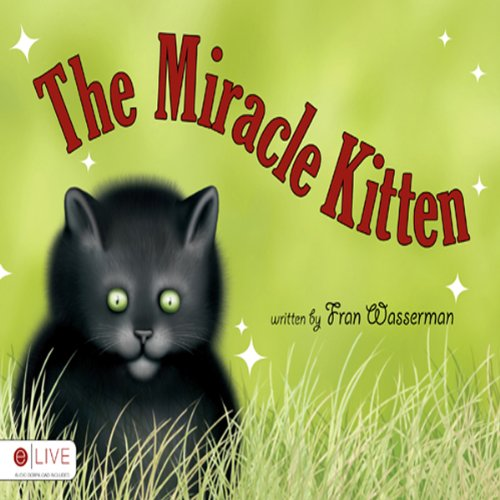The Miracle Kitten audiobook cover art