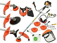 Freecutter 6 PS JG Lawn Trimmer Petrol Motorsense Grasmaaier Tuingereedschap trimmer Licht*