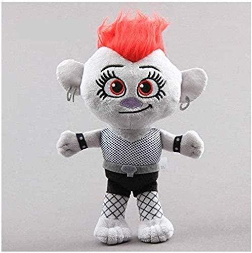 N-L Peluche de 20 cm Movie Trolls Peluches Pluche Troll Dolls Peluche Baby Kids Regalo de cumpleaños Decoración y Entretenimiento para el hogar Juguetes Los