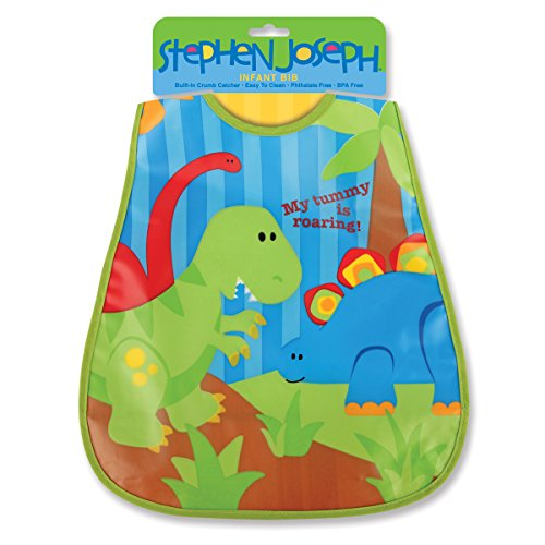 abwischbares Bavoir Dinosaure Stephen Joseph