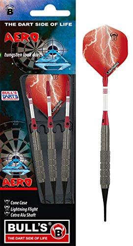 BULL'S Aero Soft Dart 14g, Silber