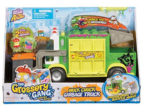 Grossery Gang Muck Chuck Garbage Truck, Müllwagen
