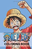 One Piece Coloring Book: HIGH-QUALITY CHARACTERS DESIGN