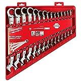 Milwaukee SAE Ensemble d'outils de mécanique à cliquet 15 pièces