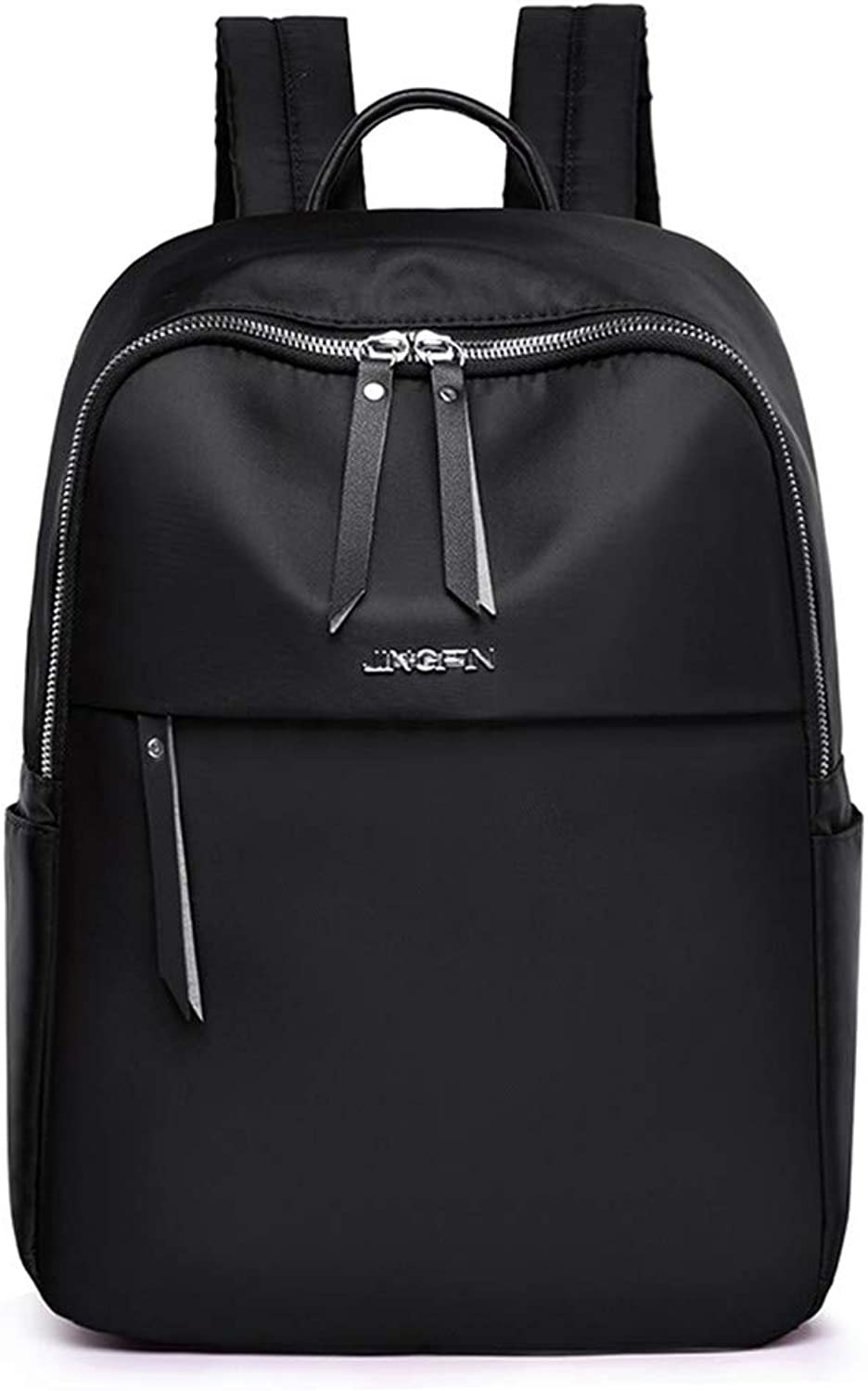 573d84452ffd Oxford Student Simple Practical Casual Black Bag, Backpack Nylon ...