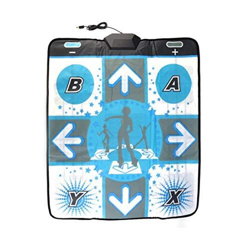 OocciShopp Dance Pad, el más Nuevo Antideslizante Dance Revolution Pad Mat Dancing Step para Nintend para Wii para Pc TV Los Mejores Accesorios para Juegos de Fiesta (Blanco)