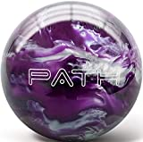 Pyramid Path Bowling Ball (Purple/Black/White, 12 LB)
