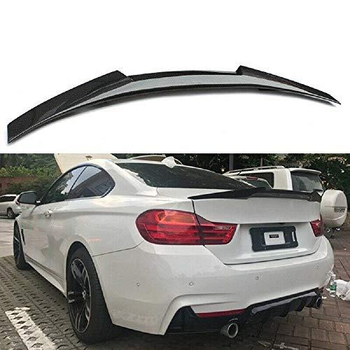 Alerón trasero de fibra de carbono para BMW Serie 4 de dos puertas de coche F32 Coupe 2014-2019 estilo M4