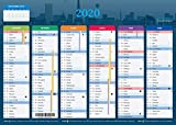 Calendrier 2020 - format A4 - Papier épais - prévu pour l'écriture.