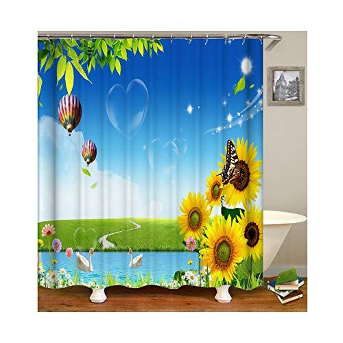 cortinas de baño rallas