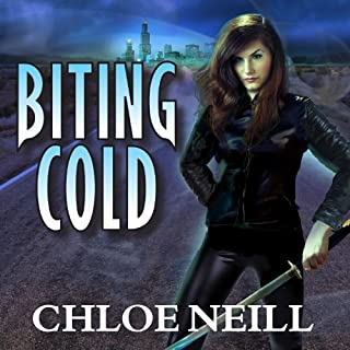 Biting Cold audiobook cover art