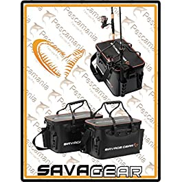 Savage Gear Boat & Bank PVC hermétiques avec des supports de canne area game