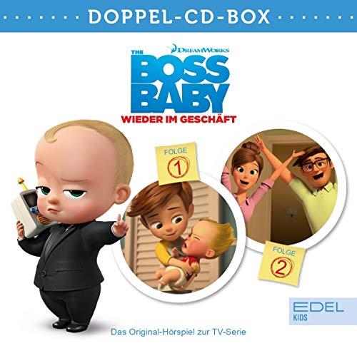 Boss Baby - Wieder im Geschäft - Doppel-Box (Folge 1 + 2) - Die Original-Hörspiele zur TV-Serie