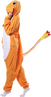 FunnyCos Unisex Animal Onesie Adult Halloween Pyjamas Cosplay Costume Hooded Loungewear
