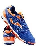 Joma Dribling, Zapatilla de fútbol Sala, Blue-Orange, Talla 6.5 US (39 EU)