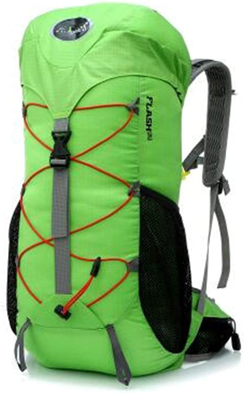 Outdoor Men Camping Hiking Waterproof Ultralight Backpack Travel Green