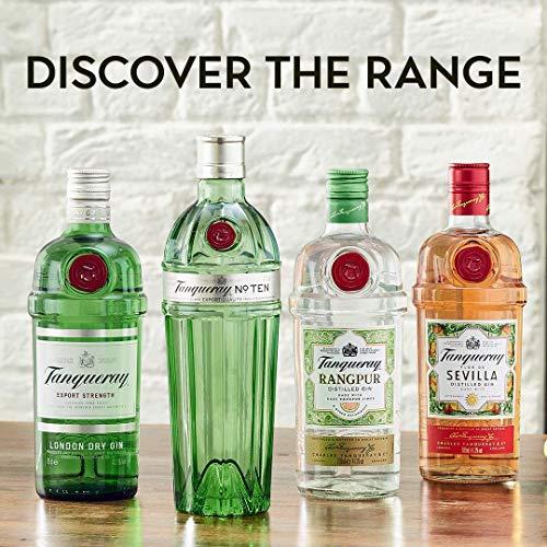 Tanqueray Rangpur Lime Distilled Gin – Ideale Spirituose für Cocktails oder Gin Tonic – 1 x 1L - 6