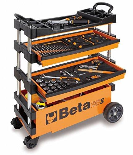 Beta inklapbare gereedschapswagen C27S