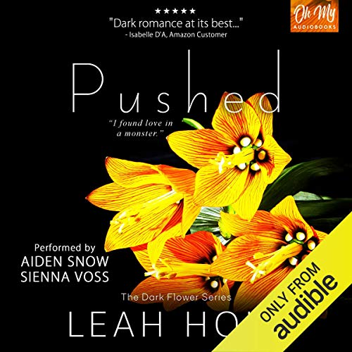 Pushed audiobook cover art